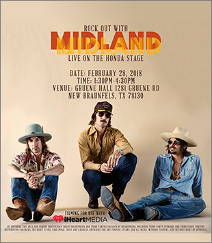 Get the back story on Burn Out from Midland's performance Live on the Honda stage at Gruene Hall